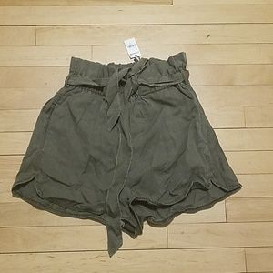 Extreme high rise express small shorts